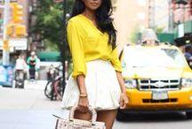 Splash of C O L O R / Spring & Summer Fashion / by Jordan Zuniga