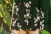 Florals and Fun Prints