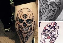 My tattoo design and tattoo works