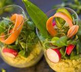 Vorspeisen- und Salatrezepte / Eine taillenfreundliche, frische Salatvariation, die im Nu zubereitet ist. Die nussigen Zutaten geben nicht nur den richtigen Crunch, sondern reichern den Salat mit wertvollen Vitalstoffen an.
