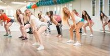 Dance Fitness / because working out together is more fun!