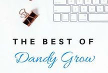 The Best of DandyGrow / Tips from my blog about making money, saving money, and working from home.