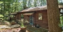 Paupack Point Lakefront / This stunning log cabin lakefront property in Lake Wallenpaupack, PA is the perfect place for your family vacation. Book by calling (570) 878-0399 today!