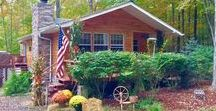 Bob's Bungalow / This beautiful bungalow in Lake Wallenpaupack, PA is the perfect place for a rustic family vacation. Book by calling Cindy Cepko at 570-878-0399!