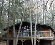 Beaver Lake Cabin / Rent this gorgeous property in Lake Wallenpaupack, PA by calling Cindy at 570-878-0399!