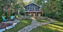 Camp Ugly Wolf Lakefront Home / Book this vacation rental by calling Cindy at 570-878-0399!