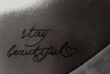 ;Tattoos&Piercings* / If only I could take the pain<3