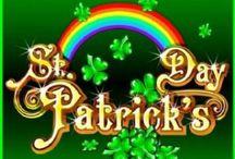 St Pats / St Patricks Day shamrocks Irish luck / by Dana Brown