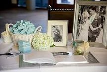 Wedding Flowers & Decor / Floral Arrangements whether live or made from memorabilia are beautiful, delicate and customized but always that special touch that adds color and pop to a wedding gown, the venue and the reception site.