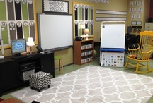 Teacher Organizing and Decorating!