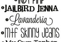 LJS   Typography & Design / Fonts are what add the beauty to Word Art.