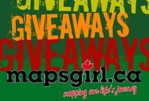 Giveaways / Enter today! Great contests that you you can enter to win!