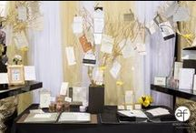 Wedding Stationery from Bridal Spectacular Pros / Just the Right Stationery will tell you guests a lot about what to expect. Be creative & step out of the 'paper box'!