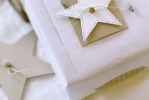 Gift Wrap Ideas / A gift isn't a gift until it's wrapped beautifully. / by Lara  {Overstuffed}
