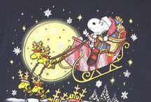 Charlie Brown & The Peanuts Gang / all the gang at Christmas and all year long