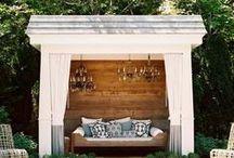 inspire: Al Fresco / Elegant outdoor living spaces and pools.