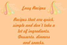Easy Recipes From SFFS / Just a few steps to some delicious creations!