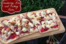 Pizza ~ Mama Mary's / These are pizzas I created using the yummy pizza crusts from Mama Mary's