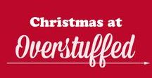 Overstuffed Christmas / All things Christmas! Christmas crafts, Christmas photography ideas, Christmas decorations, Christmas treats, Christmas gift guides, Christmas traditions, Christmas printables, Christmas activities, Christmas cards, and Christmas  book lists.