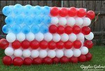 Patriotic / Food, Crafts, Decor & Music for Patriotic Holidays.