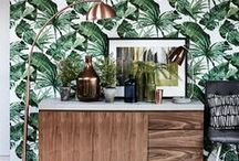 Top tropics / Bring 2017's coolest interior design trend into your home.