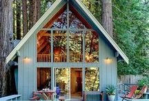 Cabin hideaways / Hideaway in a cabin and find your inner peace.