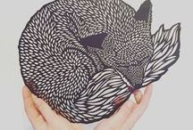 Quirky papercuts / Find inspiration with this collection of stunning papercut designs.