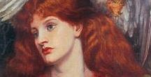 Pre-Raphaelites / Pre-Raphaelites - a direction in English poetry and painting in the second half of the XIX century, formed in the early 1850s in order to combat the conventions of the Victorian era, academic traditions and blind imitation of classical patterns.