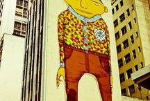 Street art / Arteiros