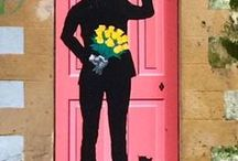 Colorful door / Kolorowe drzwi / Colorful door / Kolorowe drzwi