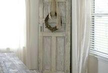 Door repurpoing ideas / Co można zrobić ze starych drzwi? / Door repurpoing ideas