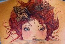 tattoos for inspiration / by Kat Koppel-Dobbs