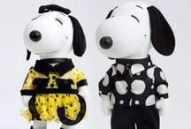 Snoopy & Belle in Fashion / Snoopy, the Peanuts gang and their inspirations in the world of high fashion. For more Snoopy, Charlie Brown and Peanuts goodness, visit us at CollectPeanuts.com and check out our other boards.