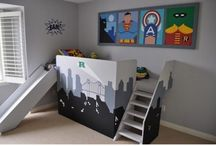 Inspiration chambres enfants / Kid's Room / by Laetitia Delcher