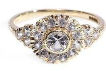 Engagement & Wedding Rings / Engagement rings, wedding rings, bridal rings, grooms ring, ring boy, ring bearer, vintage rings, vintage inspired rings, diamonds / by Capsule