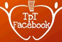 Facebook: TeachersPayTeachers / RULES - This board is for pins that link DIRECTLY to your FACEBOOK PAGE.  This board is NOT for product pins.  We're not accepting new collaborators at this time. Thanks!