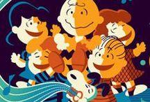 Peanuts Prints from Dark Hall Mansion / Amazing artwork featuring the Peanuts Gang from DarkHallMansion.com.