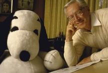 Portraits of Charles Schulz / Best known for his creation, Peanuts, Charles Schulz was a comedian, psychiatrist and philosopher through his characters Charlie Brown, Snoopy, Lucy, Linus and the whole Peanuts gang. Thanks for everything, Mr. Schulz!