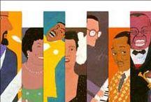 Ritratti in jazz / Il libro di Murakami Haruki e Wada Makoto sul jazz declinato in copertine e brani musicali (cliccare sulle copertine per ascoltare i brani su YouTube).