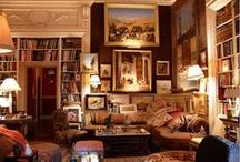 Interior [Library & Office] / by Fred Goulart