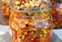 Canning Recipes / Put up the bounty of your garden or take advantage of seasonal fresh produce with these delicious canning recipes.