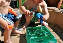 Kids Crafts & Activities / Keeping kids active, engaged and inspired is a great way to nurture their early learning and development.  It's also a great way to build up a healthy appetite and can help with fussy or picky little eaters.  We love these kids activities and kids craft inspirations around outdoor fun, imaginary play and fine and gross motor skill development.  Such fun ideas!