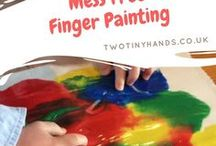 Parenting | Toddler craft ideas / Craft ideas and inspiration to do at home with your toddler.
