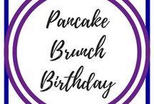 Pancake Brunch Birthday