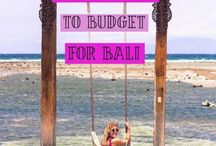 Travel - Bali Adventures / Guides and inspo for the beautiful island of Bali, Indonesia