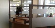 Χωρίσματα - Διαχωριστικά  για το γραφείου . / office partitions
