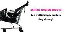 """Behind Closed Doors"" - Sex Trafficking is modern day slavery. / Behind Closed Doors is an initiative to help raise awareness about sex trafficking as modern day slavery."