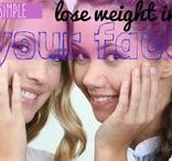4 Ways to Lose Weight from Your Face / Experts share seven tips on how to lose weight in your face without going under the knife.