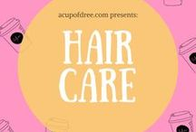 HAIR / A collection of hairstyles + treatments // hair braids - haircuts - natural hair - hair growth - hair conditioner