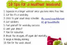 Health & Nutrition Tips / Healthy tips for every day life. For more tips or accountability check out fb.com/kristijean3 / by Kristi Holmes